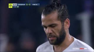 Dani Alves vs Strasbourg Away HD 1080p 05/12/2018