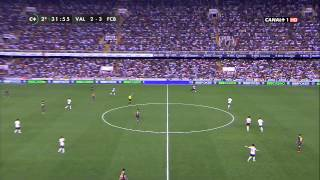 La Liga - Barcelona vs Valencia - 2do Tiempo 1/9/2013