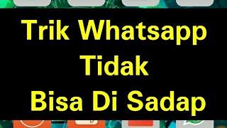 Trik whatsapp agar tidak bisa di sadap