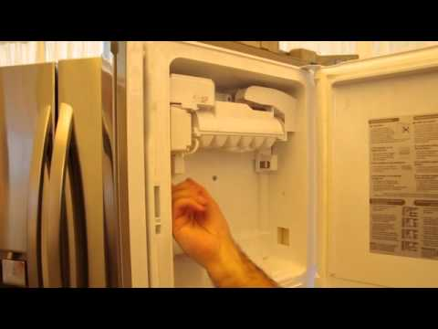 Lg S Space Saving Ice Maker Mov Youtube