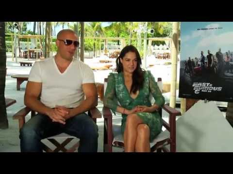 Vin Diesel and Michelle Rodriguez Interview