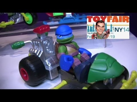 Teenage Mutant Ninja Turtles Half Shell Heroes at New York Toy Fair 2014