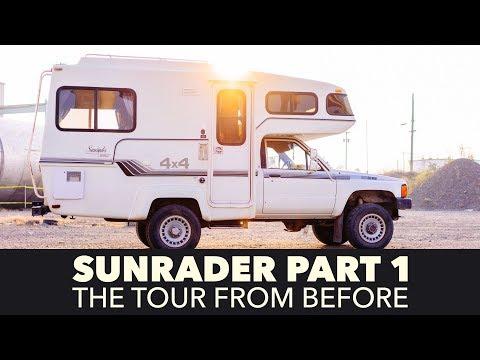 Toyota Sunrader 4x4 Build Part 1 - Tour Before Renovation