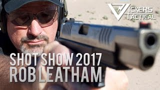 SHOW Show 2017: World Champion Rob Leatham talks Springfield Armory