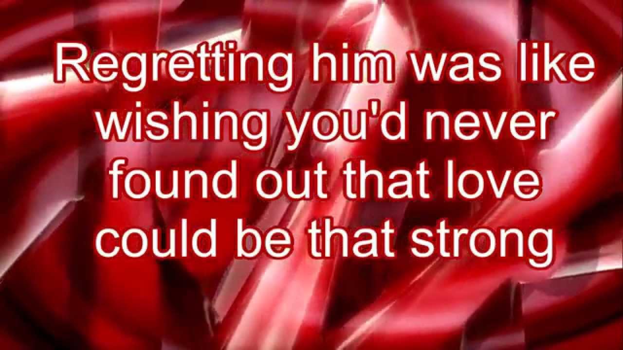 Taylor Swift- Red (Lyrics) - YouTube