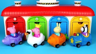 Peppa Pig Mini Buggies Garage Surprise Toys Peppa Pig Mashems Chupa Chups Surprise Eggs for Kids