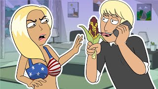 Gay Guy Calls a Sex Worker Prank (animated) - Ownage Pranks