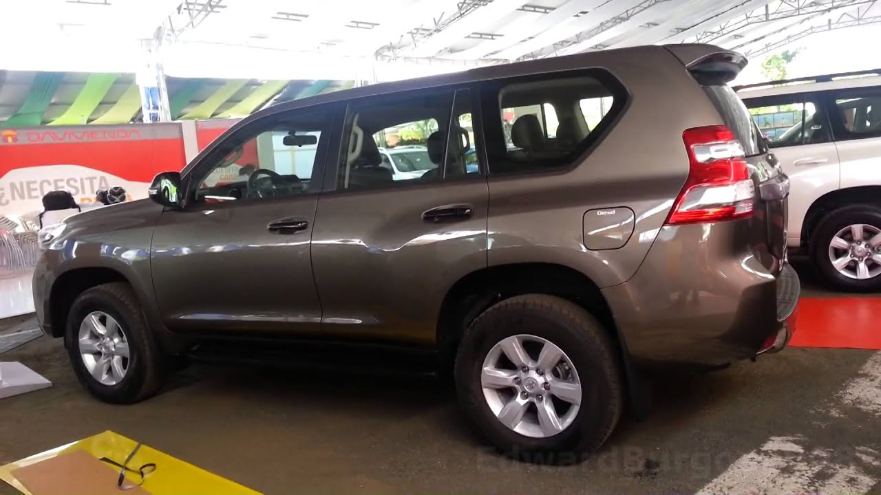 2015 Toyota Prado Tx 2015 Al 2016 Precio Ficha Tecnica