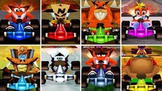 Crash Team Racing - All Characters | Road To Crash Team Racing Nitro-Fueled