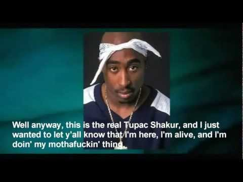 2012 Tupac Shakur HIMSELF speaking to his fans - Coachella Concert Response!