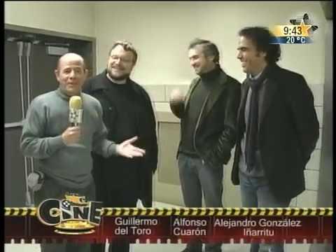 Del Toro, Cuarón y González I. en New York 1