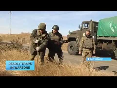 Dancing With Death: Meet Ukraine's brave landmine clearance team