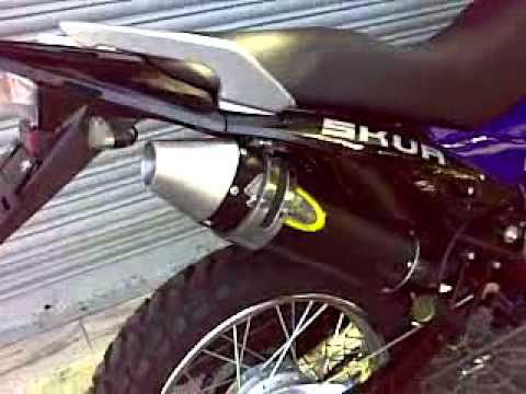 MOTOMEL SKUA 200 ENDURO ESCAPE EV EXHAUST