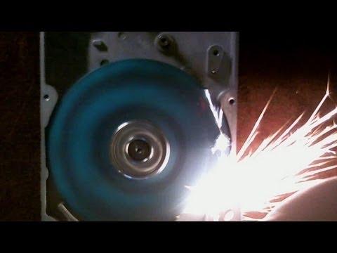 Hard Disk-Smerigliatrice – Fai da te