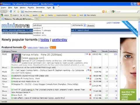 uTorrent - Configurando e Utilizando