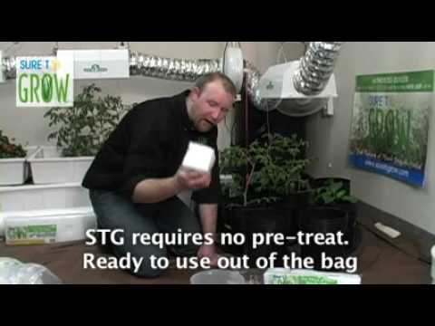 Setting up an ebb and grow hydroponics system with Sure to Grow inserts