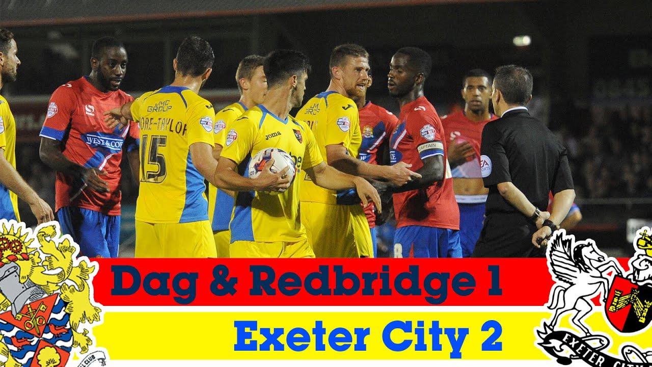 Dagenham   Redbridge 1-2 Exeter City