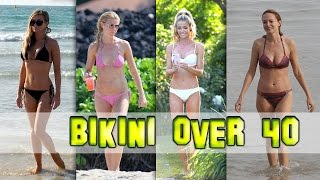 Celebs Over 40 Who Can Still Rock a Bikini. 2015 Compilation