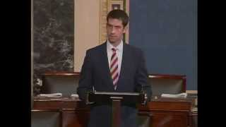 March 19, 2015: Sen. Tom Cotton speaks on the Senate floor about the U.S.-Israel Alliance