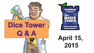 Live Q & A with the Dice Tower