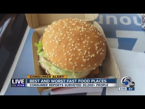 Best and Worst Fast Food Restaurants