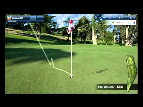 Virtual US Open Golf Video Highlights-Championship Round- June 27, 2012