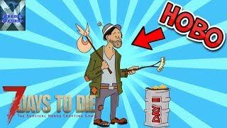 7 Days To Die | Hobo Survivor Day 2