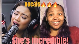 First Time Reacting to Morissette | Never Enough (Cover) on Wish 107.5 Bus