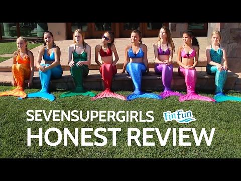Sevensupergirls  Honest Review of Fin Fun Mermaid Tails
