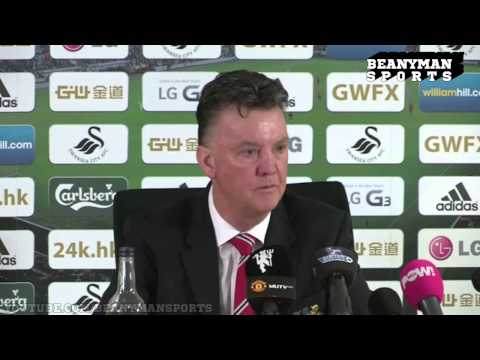 Swansea 2-1 Man Utd - Louis van Gaal Post Match Press Conference - It's Amazing We Have Lost