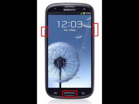 Desbloqueo de Samsung Galaxy S III Olvide Contraseña S3 BIEN EXPLICADO