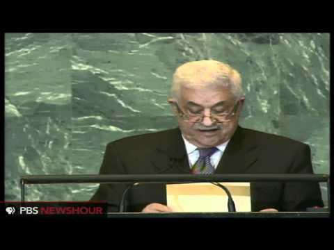 Abbas Submits Palestinian Statehood Bid to U.N.