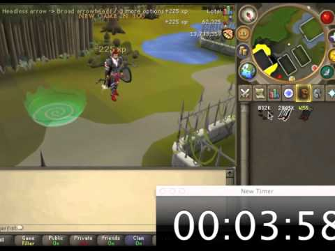 Skill Guide : Fletching : Broad arrows [ 620k+/hour ]