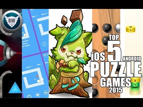 TOP 5 PUZZLE GAMES IOS ANDROID HD