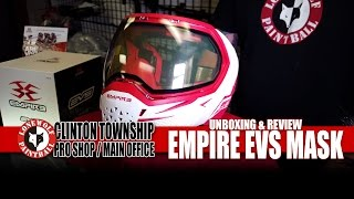 Empire EVS Paintball Mask Unboxing, Review & Comparison Lone Wolf Paintball