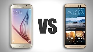 Galaxy S6 Vs. HTC One M9
