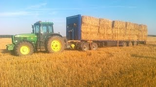 Camion trailer with John Deere 6910!!!