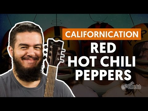 Californication - Red Hot Chili Peppers (aula de violo completa)