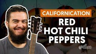 Californication - Red Chili Peppers (aula de violão completa)
