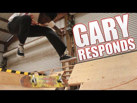 Gary Responds To Your SKATELINE Comments - Milton Martinez, John Cardiel, Double Heelflip, Tony Hawk