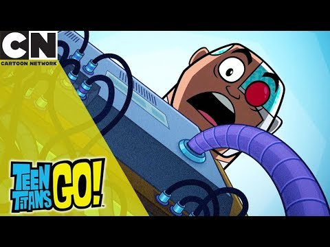 Teen Titans Go! | Ruined Movie Night | Cartoon Network