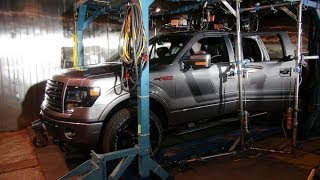 Watch how Ford uses Robots to test the durability of a Ford F-150