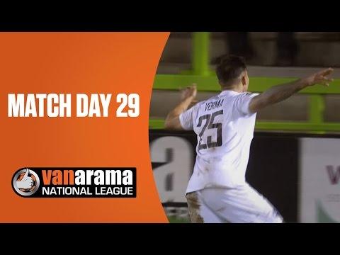 National League Highlights: Match Day 29 | BT Sport
