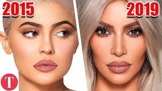 10 Times Kim Kardashian Copied Kylie Jenner