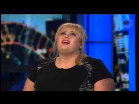 Rebel Wilson on The Project