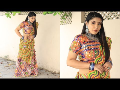 #GRWM | Garba Get Ready With Me | Navratri Special | Makeup, Hair & Outfit | Shreya Jain