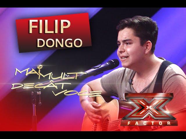 Chris Isaak - Wicked Game. Vezi aici cum cântă Fillip Dongo la X Factor!