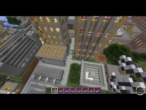 Minecraft 1.6.2 - Explora la Vertoak City y diviertete!!