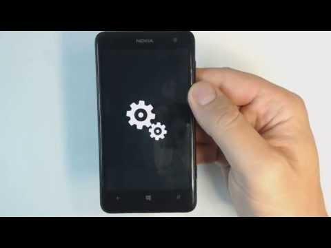 Nokia Lumia 625 - How to reset - Como restablecer datos de fabrica
