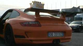 997 Porsche GT3RS & GT3 Starting Up and Driving Off